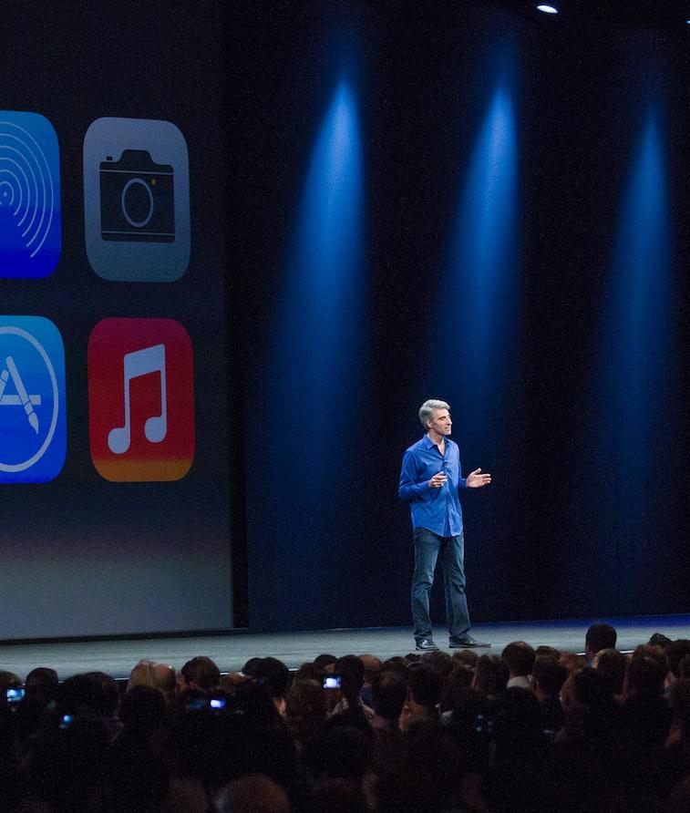 Apple demoing iOS 14