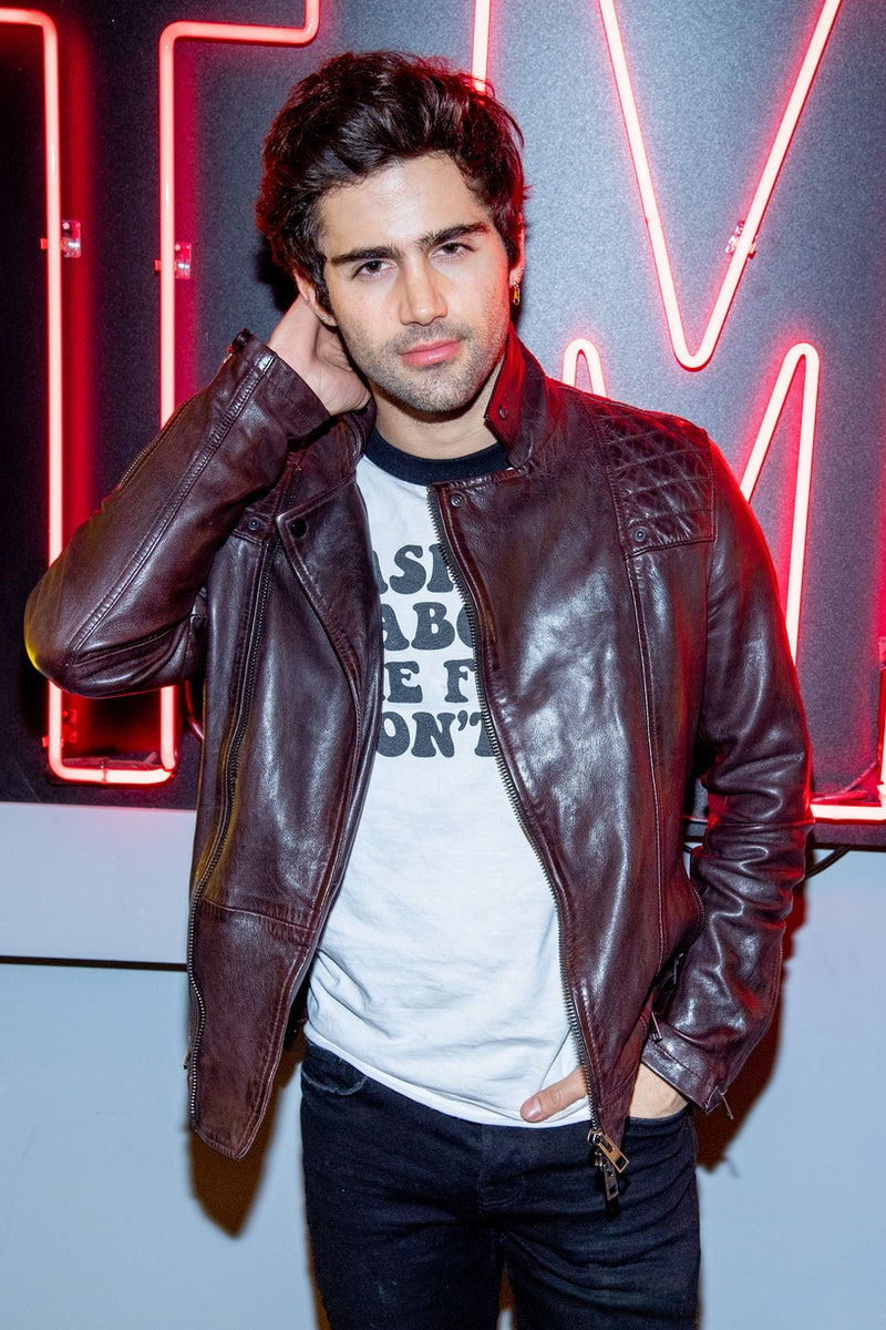 Max Ehrich says he learned about his breakup with Demi Lovato by reading about it in the press.