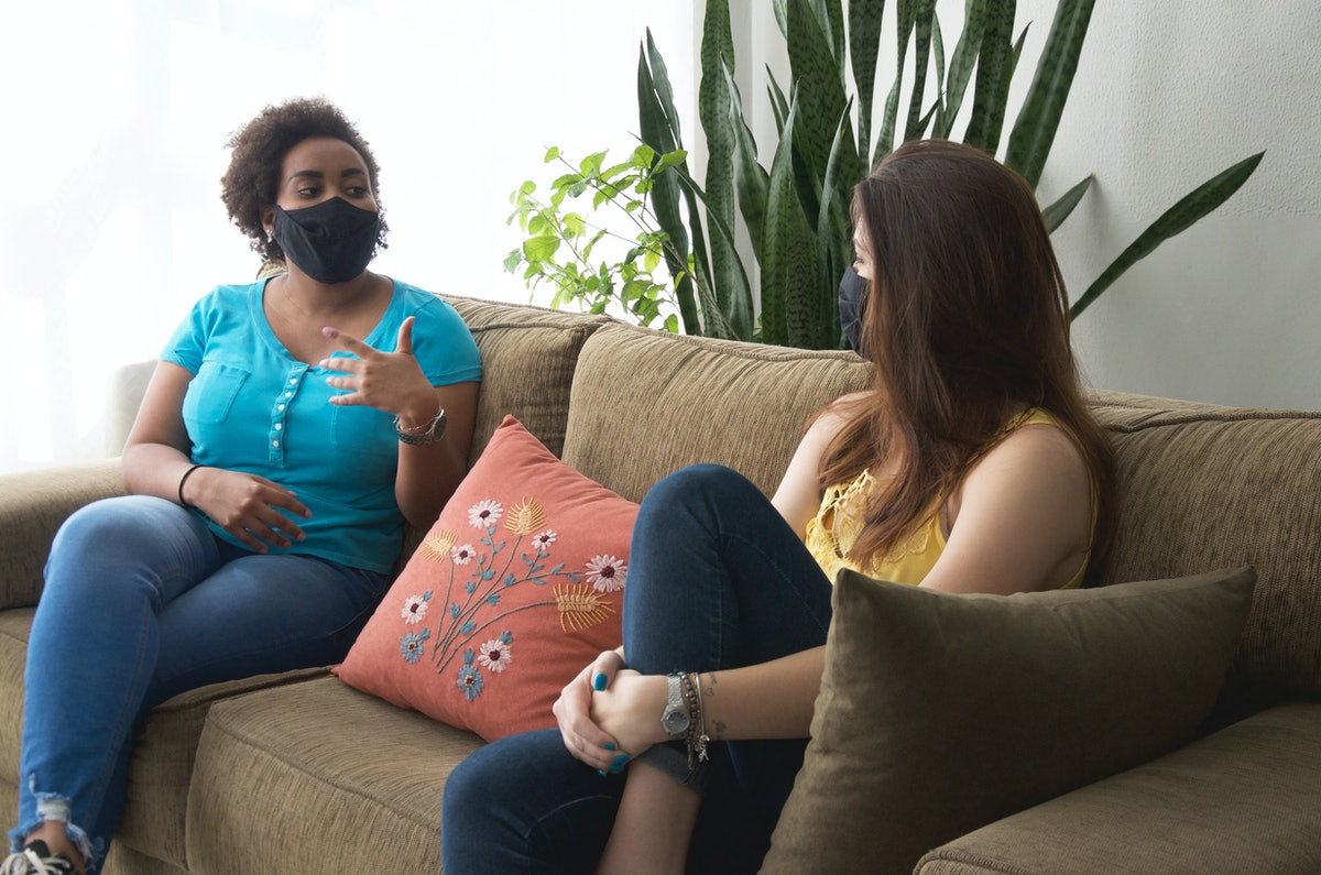 is it safe to have a first date at home during the pandemic? Experts say it depends on your lifestyl...