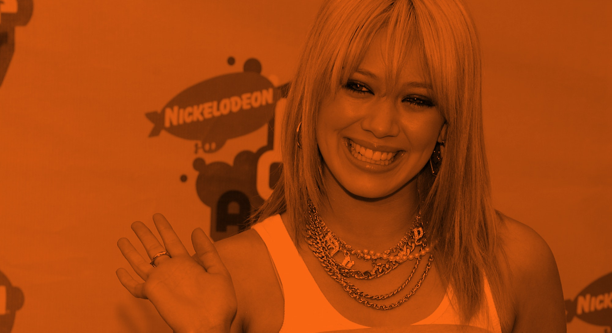 Hilary Duff at the Kids Choice Awards