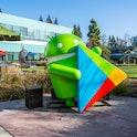 Google Android figurine.