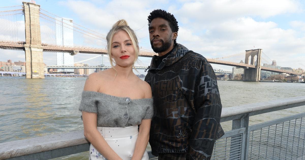 Chadwick Boseman Made Sure Sienna Miller Was Paid Fairly On '21 Bridges'