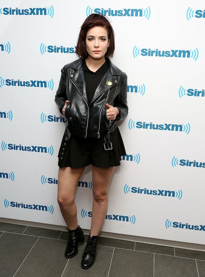Halsey at Sirius XM studios in 2014.