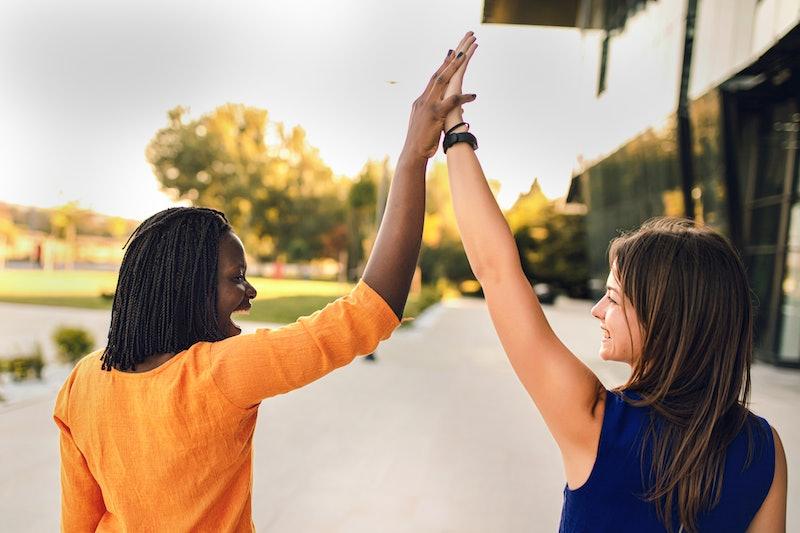women, unity, friends
