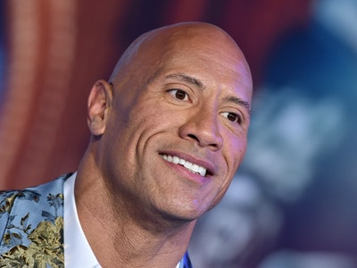 Dwayne Johnson endorsed Biden and Harris.