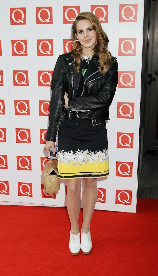 Lana Del Rey at the 2011 Q Awards.
