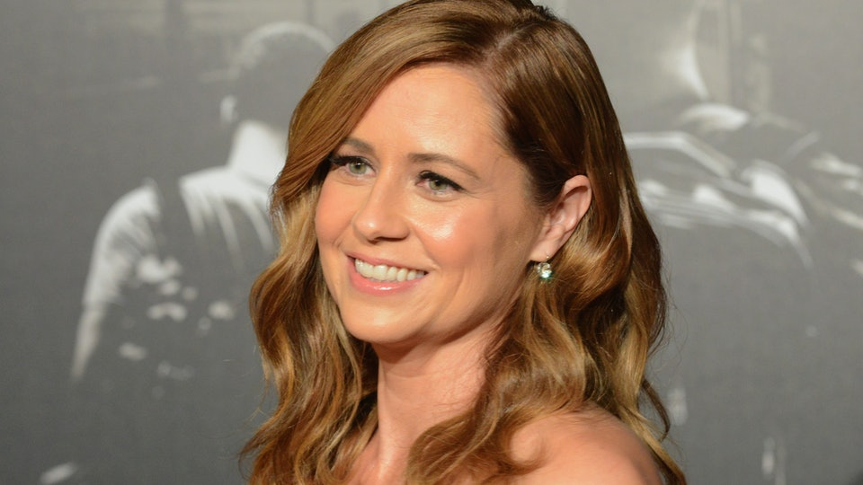 Jenna Fischer hid from her kids in the laundry room.