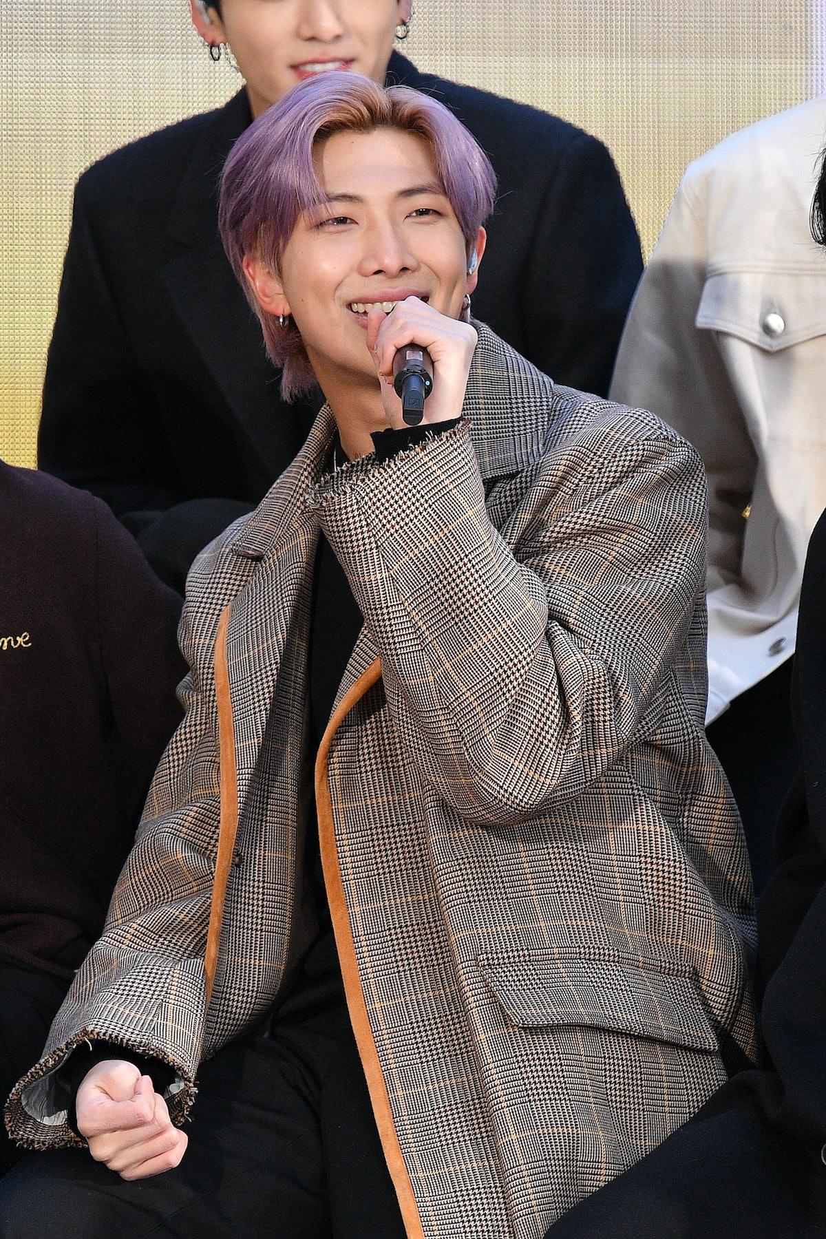RM attends a live interview.