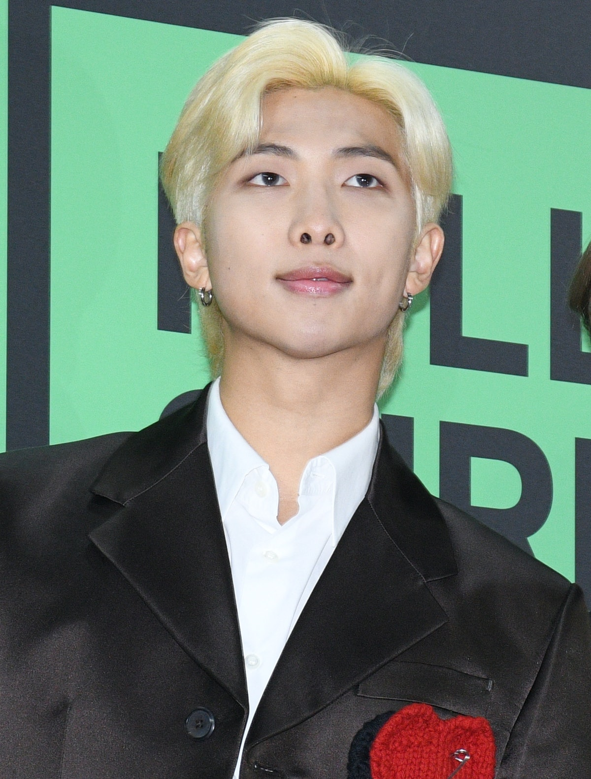 RM hits the red carpet.