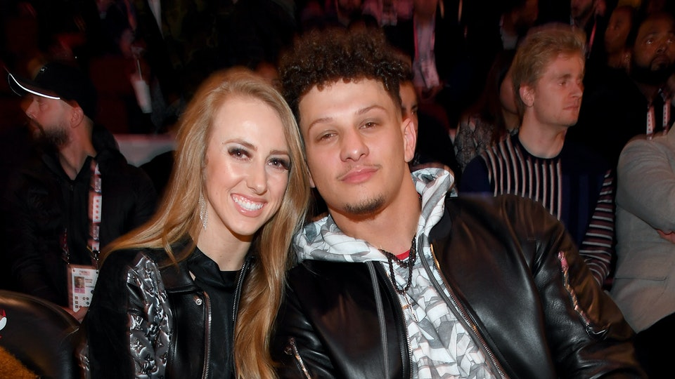 Patrick Mahomes and his fiancée, Brittany Matthews, are expecting their first child together.