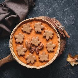 dessert, pumpkin, pie