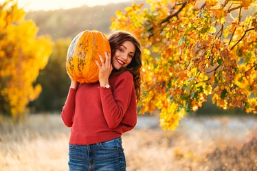 Use one of these Instagram captions for October when you post your pumpkin and Halloween pics.