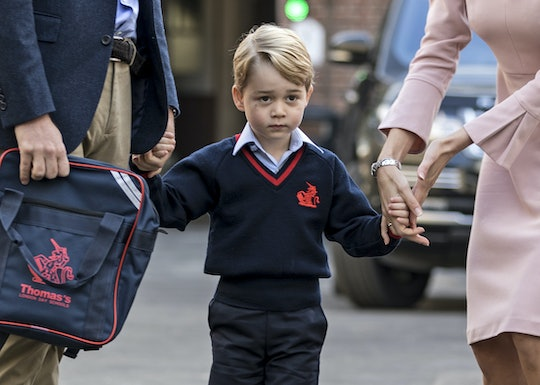 Prince George is a big fan of volcanoes.