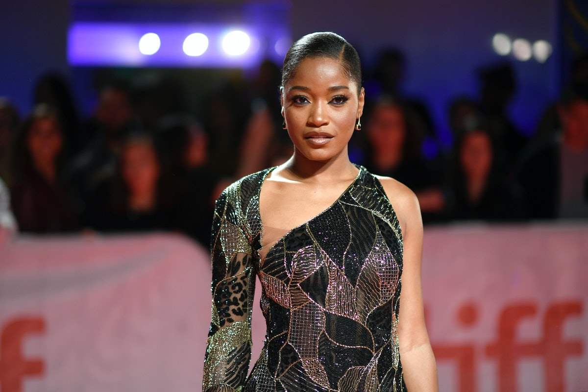 Keke Palmer poses on the red carpet
