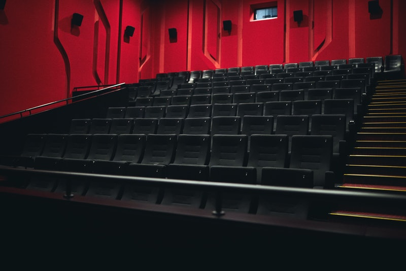 An empty movie theater. Movie theaters are opening back up, but you might be wondering if it's safe to go.