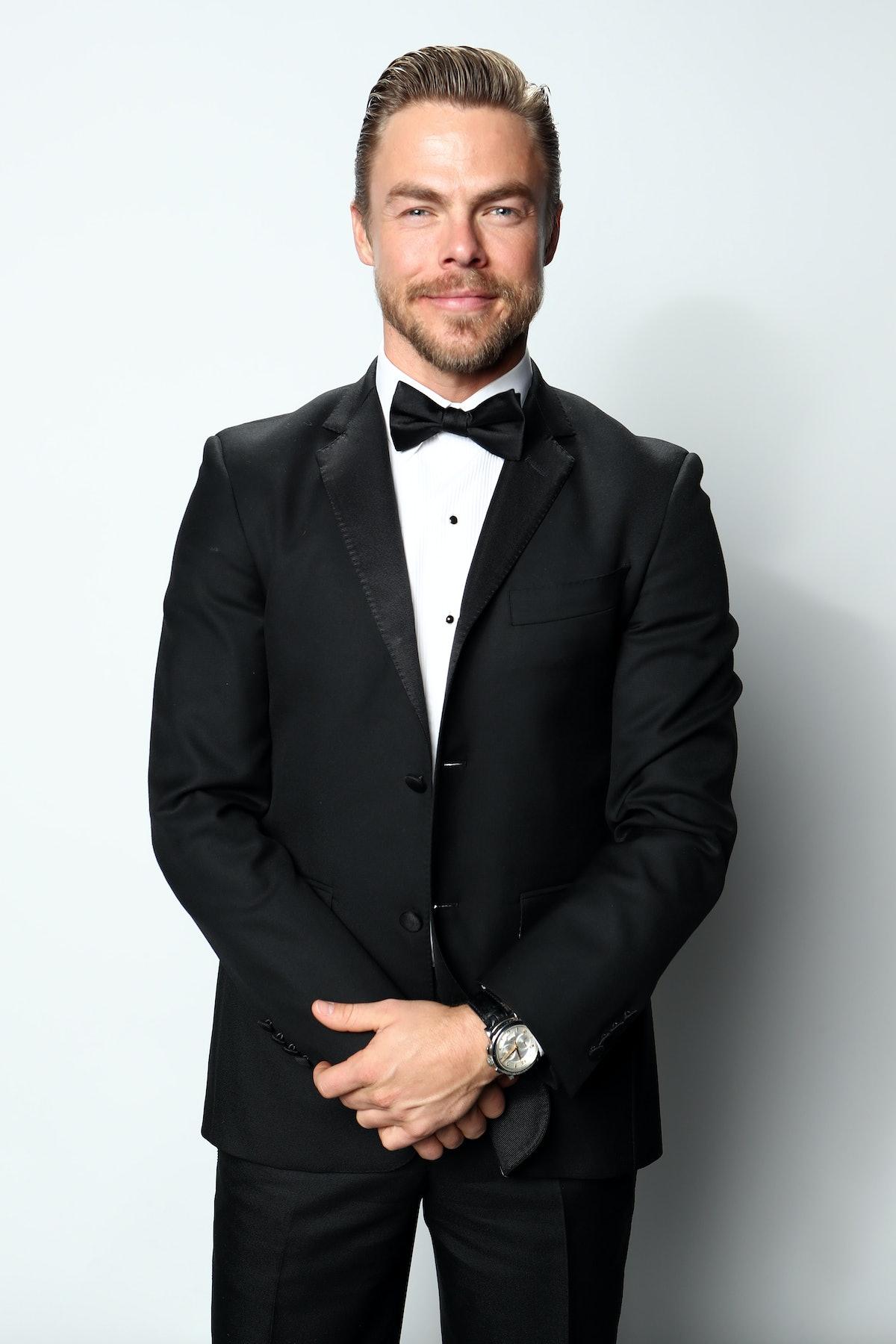 Derek Hough in a tuxedo
