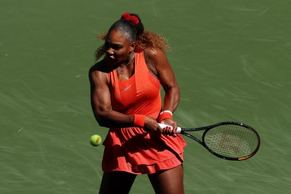 Williams is known to wear artistic manicures to her matches.