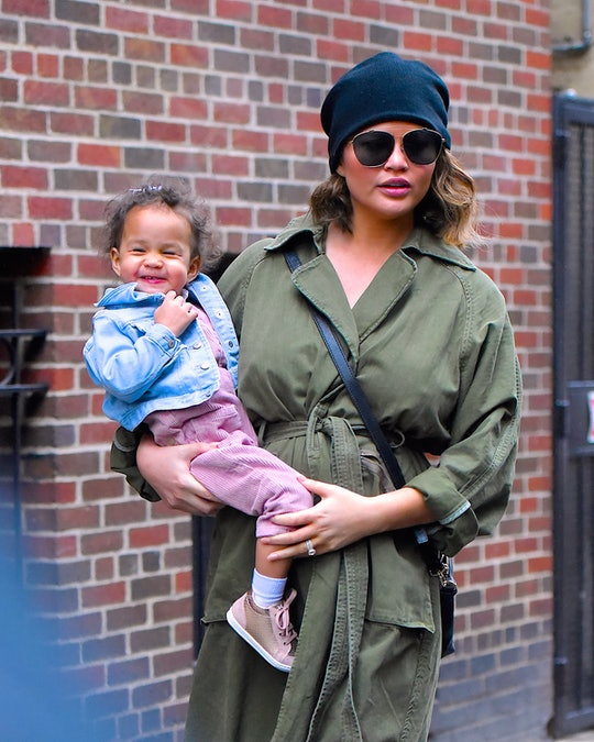 In a new interview with Marie Claire, Chrissy Teigen opened up about raising Black children with sin...