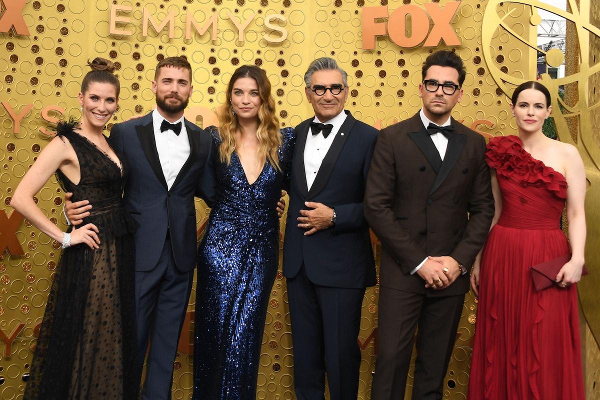 'Schitt's Creek' cast at the 2019 Emmys