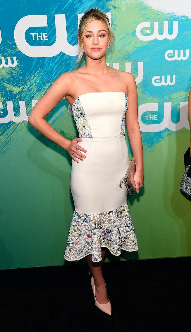Lili Reinhart at the 2016 CW Upfront.
