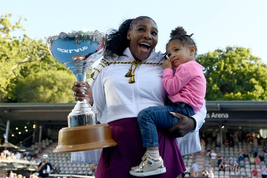 Serena Williams is one of three moms playing in the U.S. Open quarterfinals.