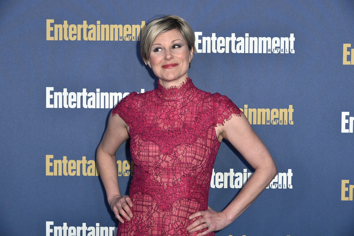 Jennifer Robertson on the red carpet post-Schitt's Creek finale
