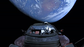 Starman on his journey.