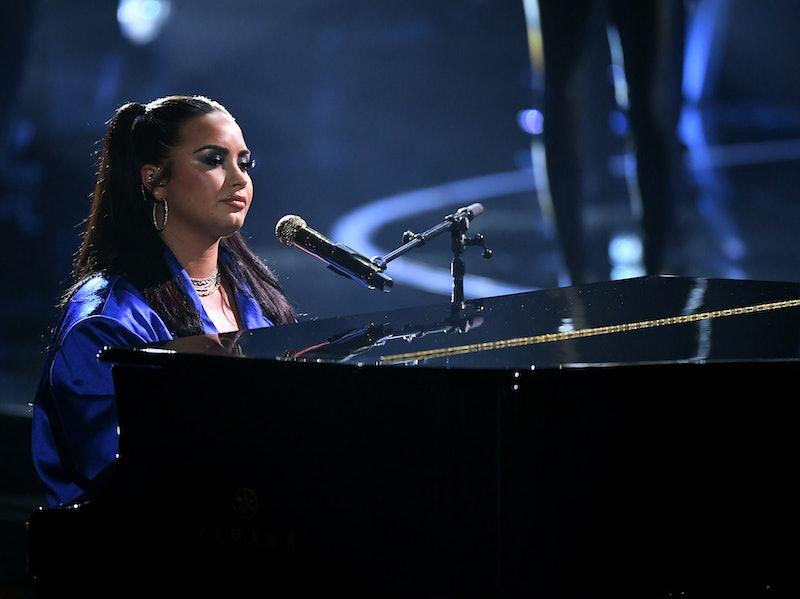 Demi Lovato will perform at Joe Biden's 2021 presidential inauguration. Photo via Getty Images