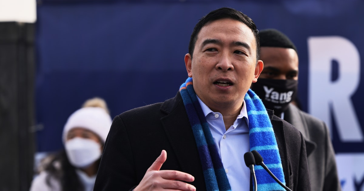 Andrew Yang wants to be New York's next mayor, pledges more TikTok Hype Houses
