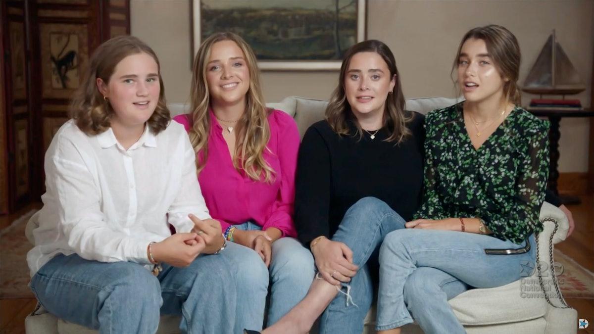 Joe Biden's grandkids include Maisy, Finnegan, Naomi, and Natalie.