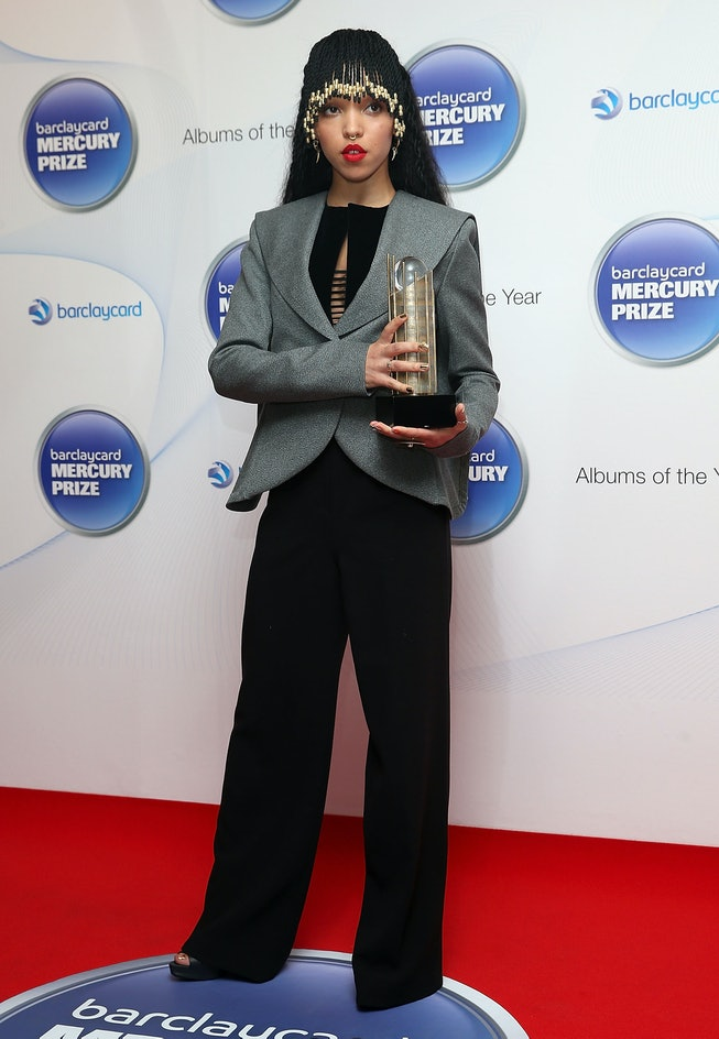 FKA Twigs at the 2014 Barclaycard Mercury Prize Nominations Launch