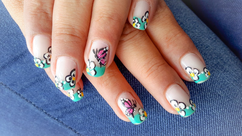 These four gorgeous butterfly nail art designs can be done at home.