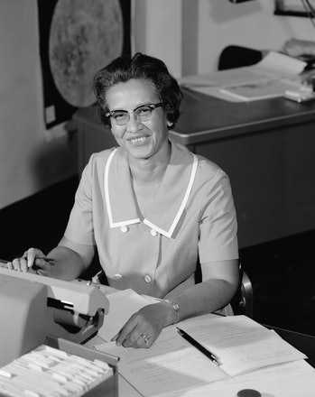 """Katherine Johnson broke barriers as a """"computer"""" for NASA —and as one of the first black women to hold a central role in the effort to put humans into space."""