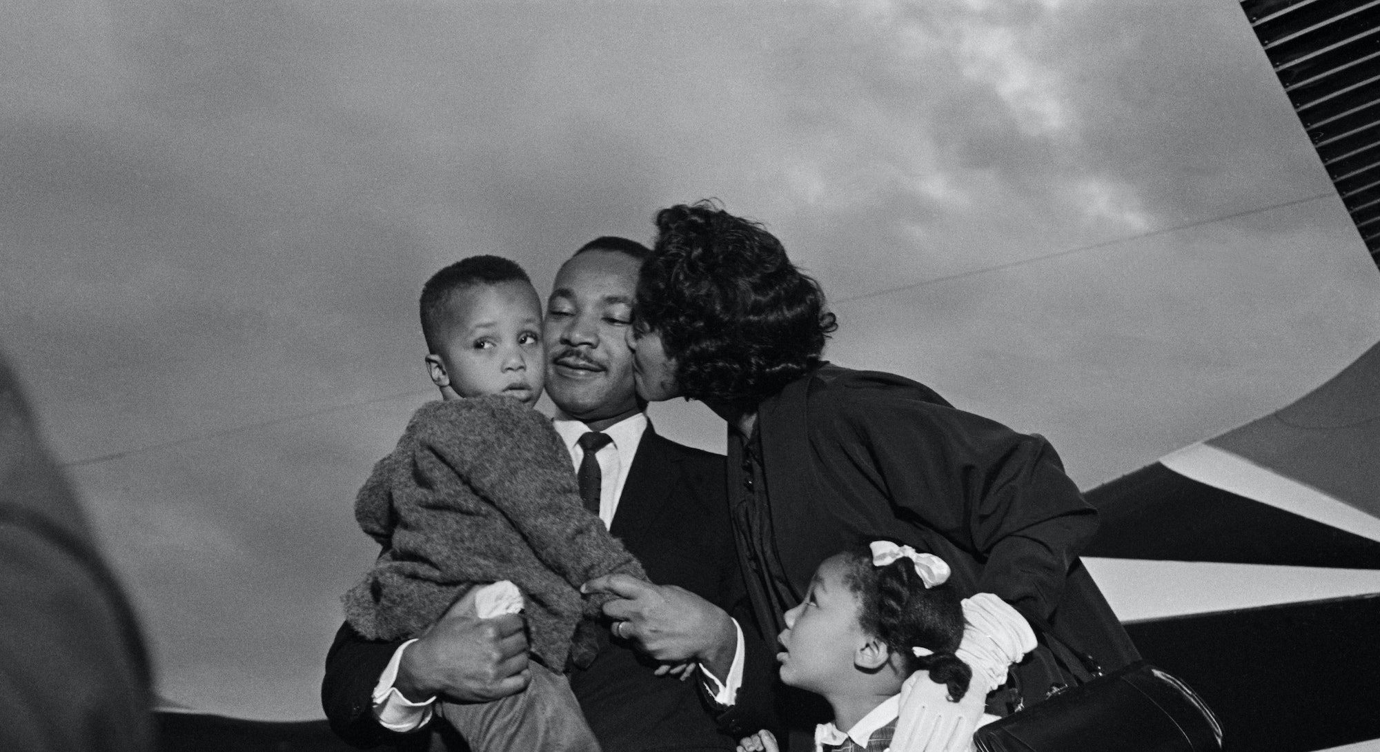 Martin Luther King Jr. was a proud dad, as evidenced by his quotes and photos with his children.