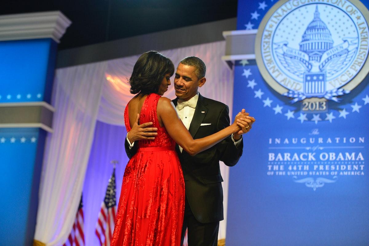 Barack Obama and Michelle Obama.