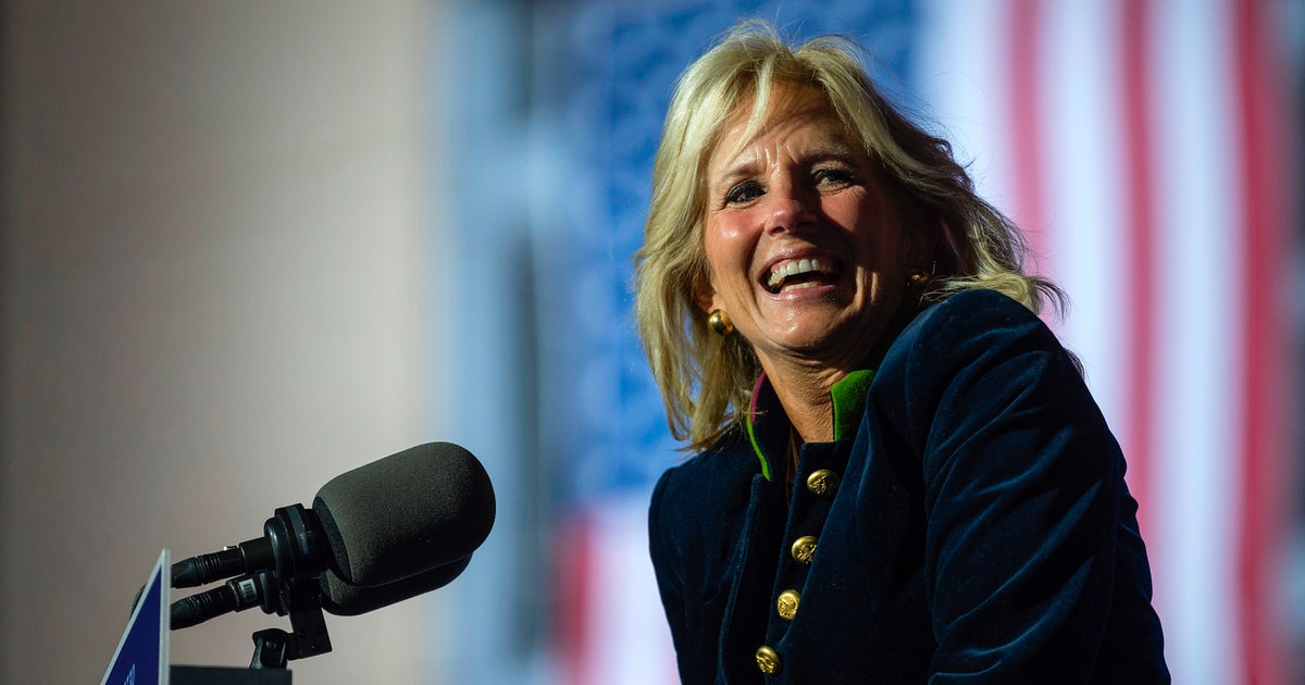 Jill Biden's White House Initiative Has A Special Meaning To Her As A Military Mom