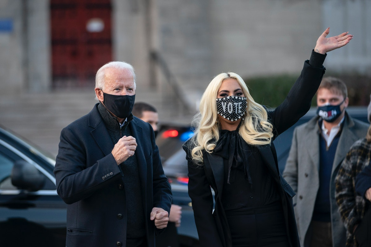 Joe Biden hits the campaign trail with Lady Gaga.