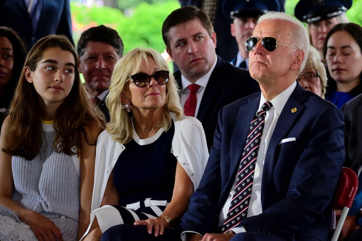 Joe Biden with granddaughter Natalie.