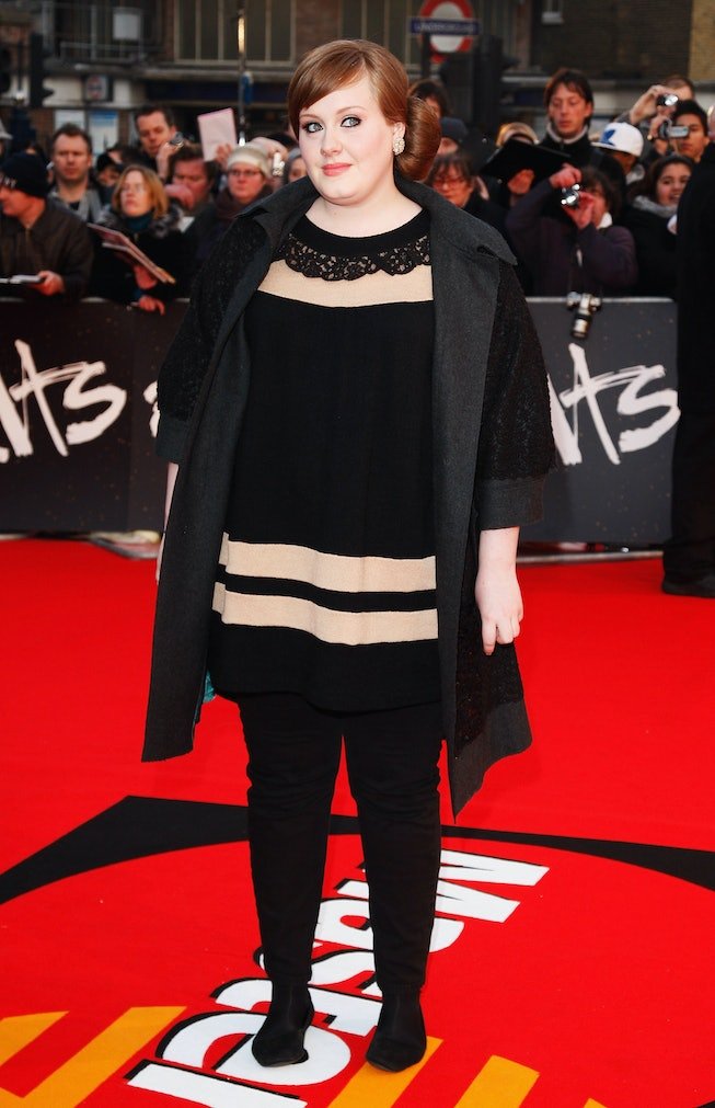 Adele in 2008, The Brit Awards