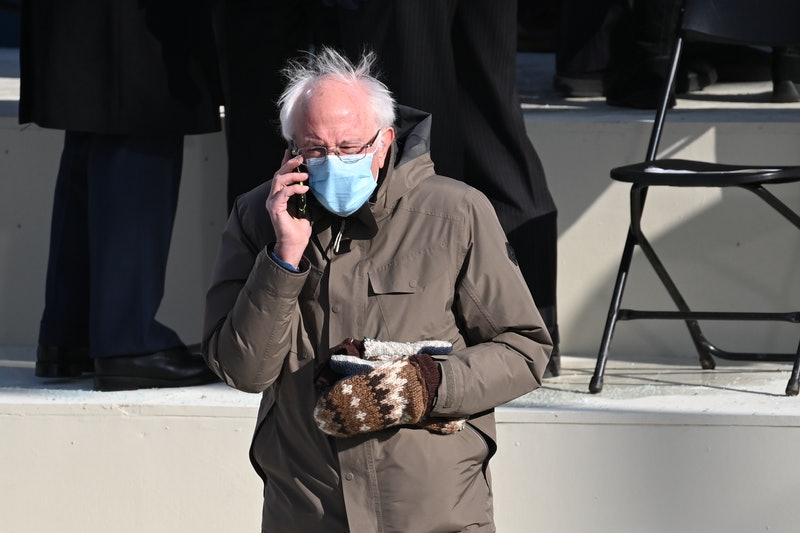 The sweet story behind Bernie Sanders' Inauguration Day mittens.