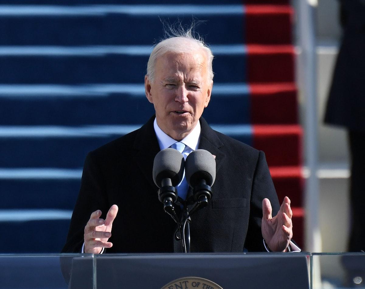 Joe Biden's 2021 inauguration speech is in clear contrast to Donald Trump's 2017 speech.