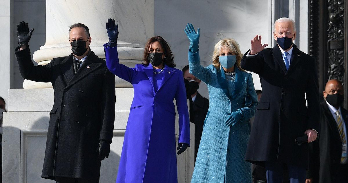 Kamala Harris & Jill Biden Sent A Powerful Message With Their Inauguration Looks