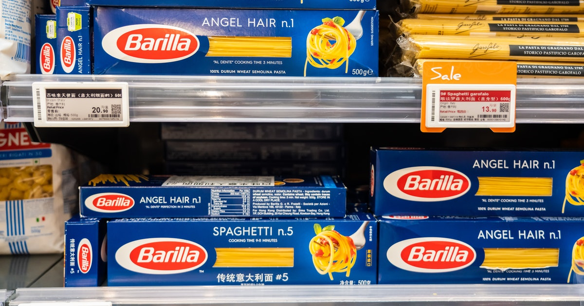 Barilla's Spotify playlists end when your pasta is ready