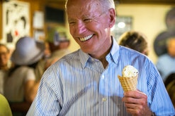 The artisan ice cream company Jeni's has released a special flavor in honor of President Joe Biden.