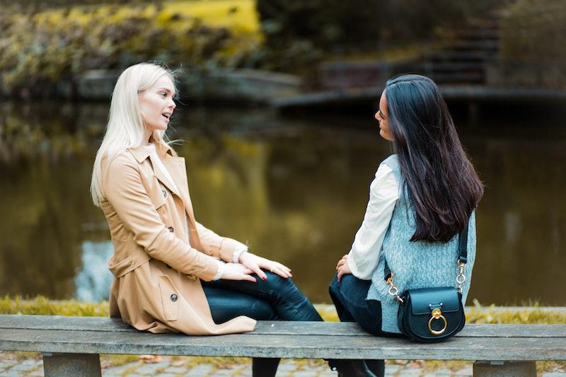 friends, conversation