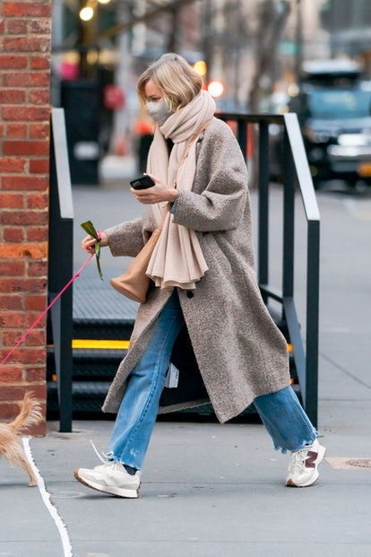 Naomi Watts is seen in Tribeca on January 24, 2021 in New York City.