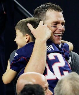 Tom Brady has two kids with wife, Gisele Bündchen, and a son with his ex, Bridget Moynahan.