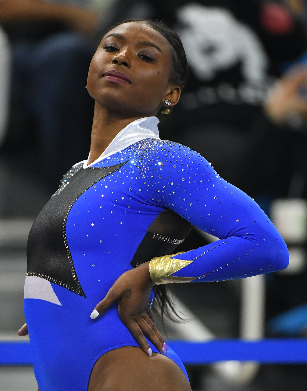 """These tweets about UCLA's Nia Dennis' """"Black Excellence"""" floor routine are so hype."""
