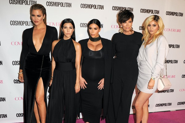 The KarJenner family hits the red carpet at an event for Cosmopolitan.