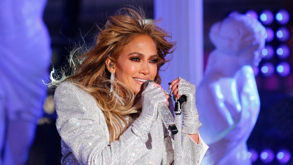 Jennifer Lopez hits the stage.